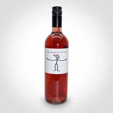 Dad I Love You This Much Rose Wine