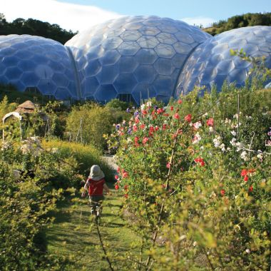 Eden Project Entrance for Two