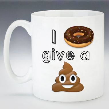 Emoji Mug: I Don't Give A.