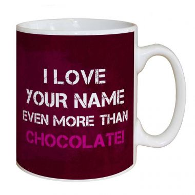 I Love You Name Chocolate