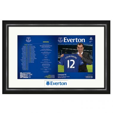 Match Programme (Everton)