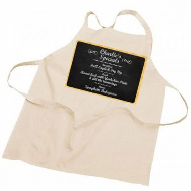Personalised Chef's Specials Apron