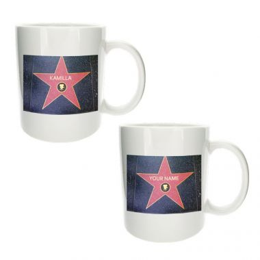 Personalised Hollywood Star Mug 1