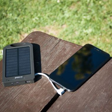 Portable Solar Bank Charger 6000mAh 9