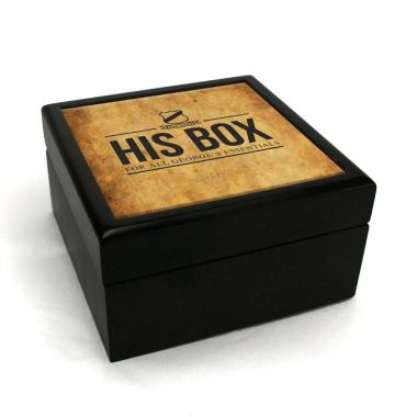 Personalised Leather Print Box