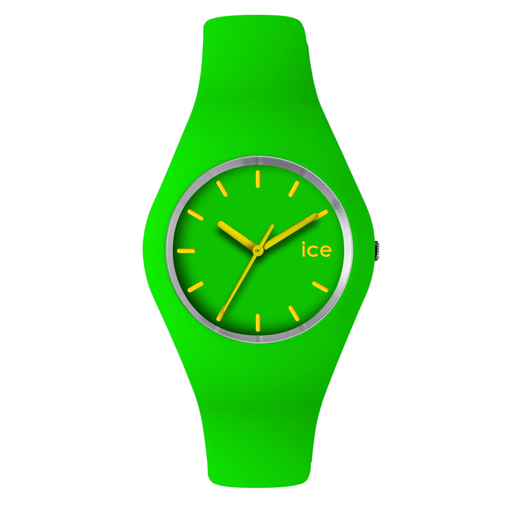 Green And Yellow Watch