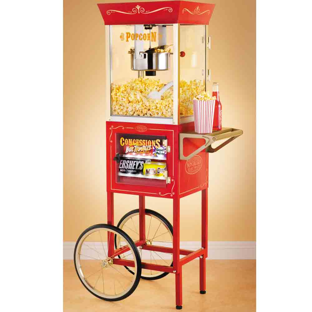 Image of Old Fashioned Popcorn Cart