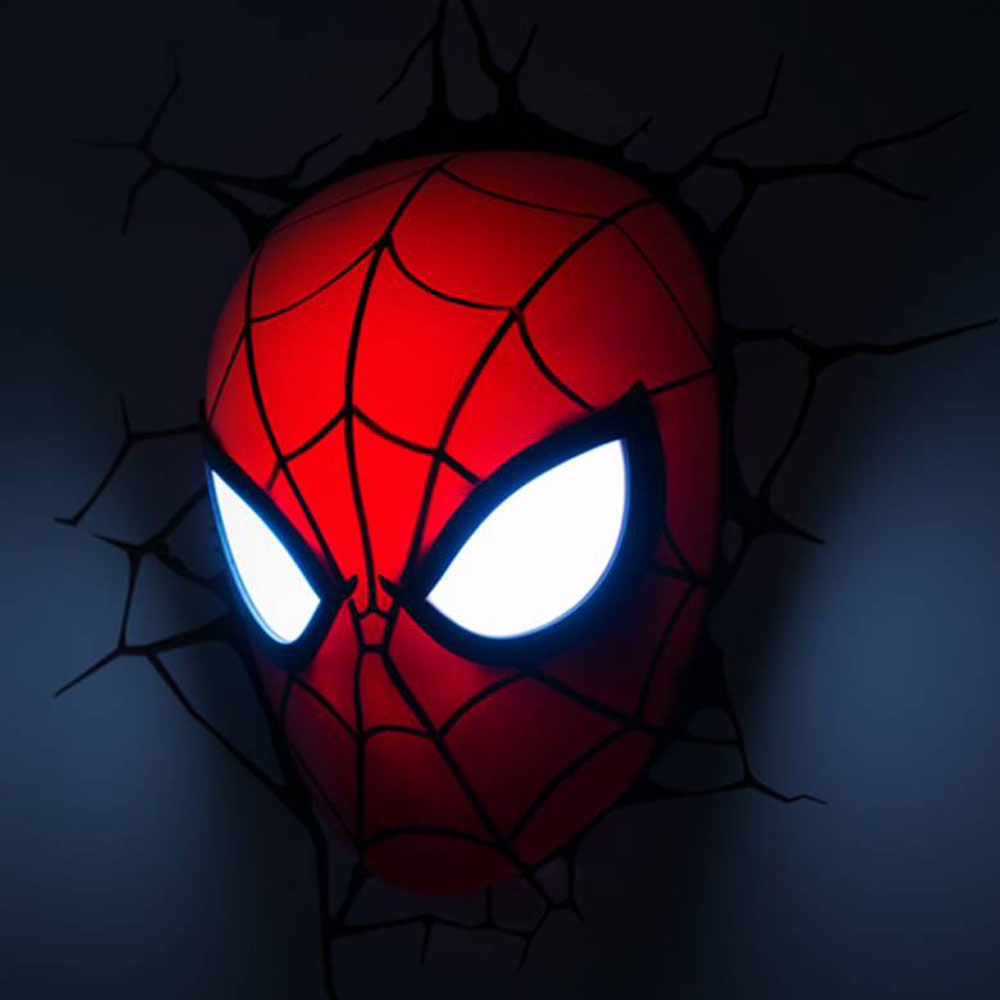 Spiderman LED Childrens Ceiling or Wall Light Philips Spiderman ...