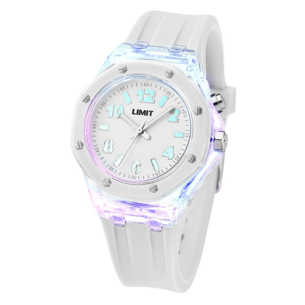 Strobe Small White Unisex Watch 6894.58