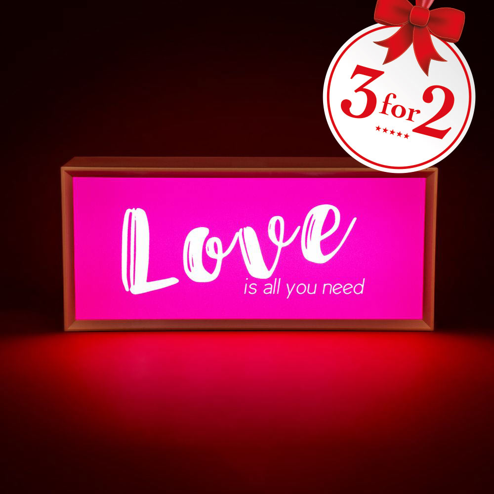 Light Up Message Box With 6 Message Cards