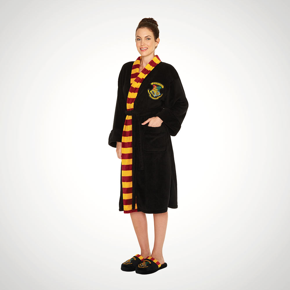 Hogwarts Harry Potter Ladies Fleece Robe