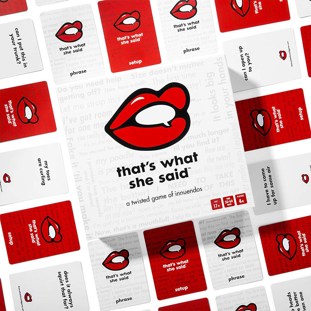 That�s What She Said Card Game