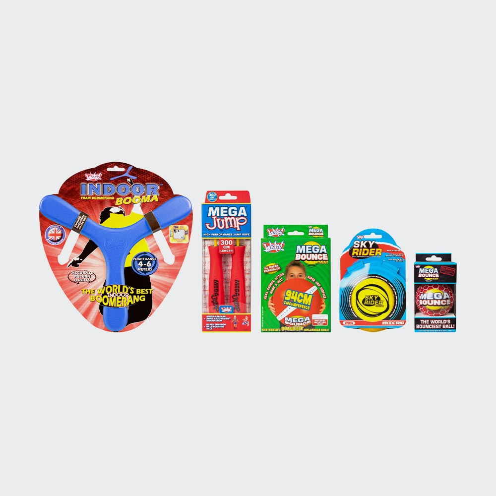 Stay At Home Indoor Toys Activity Pack � 5 Awesome Items