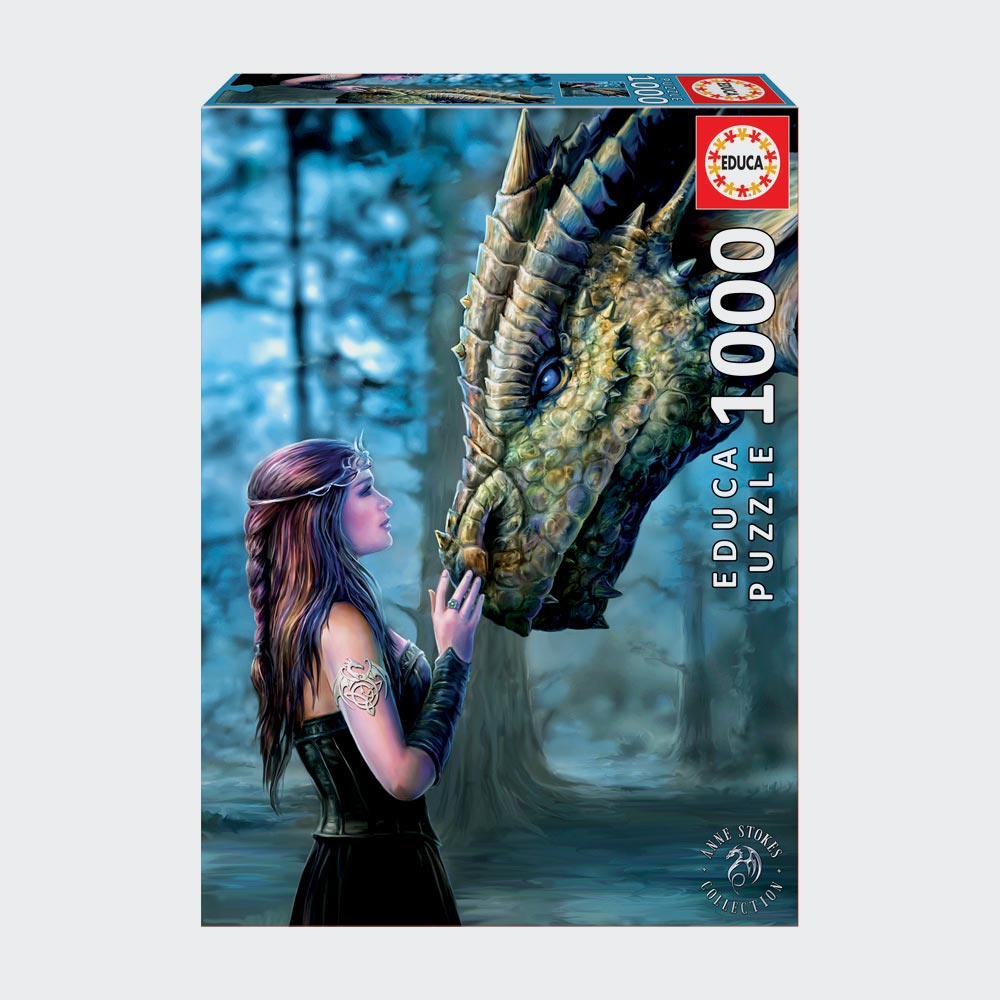 Once Upon A Time, Anne Stokes 1000 Piece Puzzle