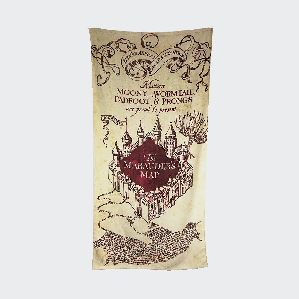 Harry Potter Marauder�s Map Towel