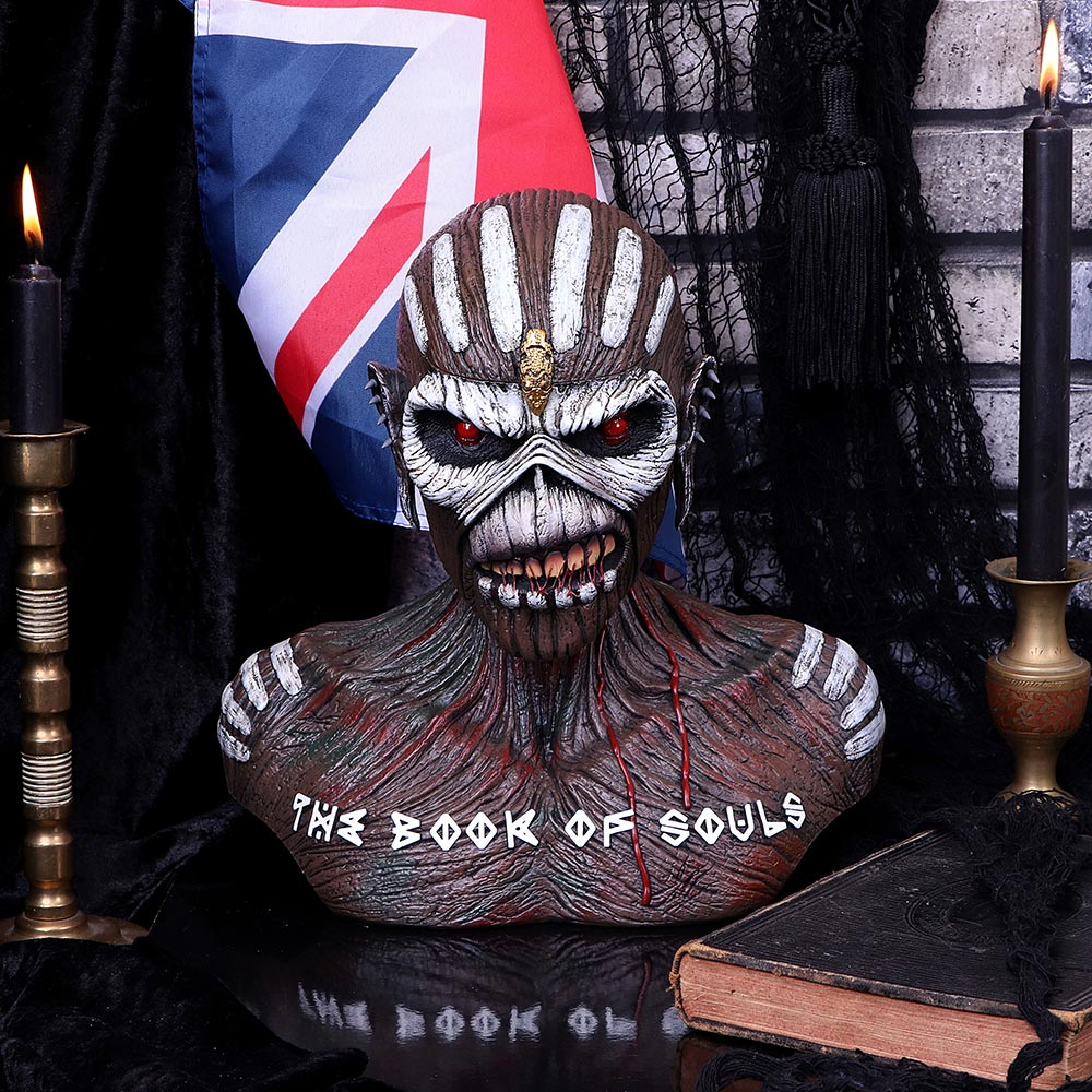 Iron Maiden Book of Souls Storage Bust