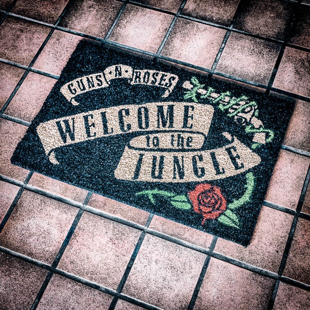 Guns 'N' Roses Doormat - Welcome To The Jungle