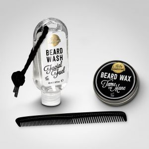 beard grooming kit the beard grooming companion from hello handsome menkind. Black Bedroom Furniture Sets. Home Design Ideas