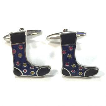 Spotted Socks Cufflinks