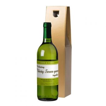 White Wine Personalised Anniversary