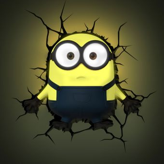 Minions 3D Wall Light (Bob)