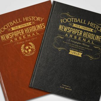 Personalised Premier League Football Newspaper A – L