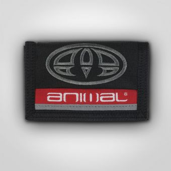 Animal DW6WJ001 Rover Black Wallet