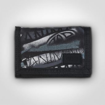 Animal DW6WJ004 Neon Black Wallet