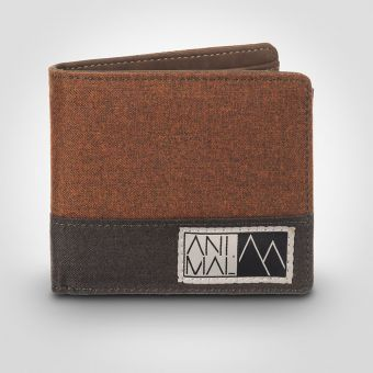 Animal DW6WJ020 Birch Brown Wallet