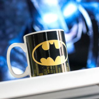 Heat Changing Batman Mug