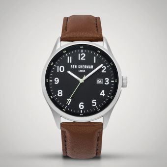 Ben Sherman London Watch Brown/Black WB065BT