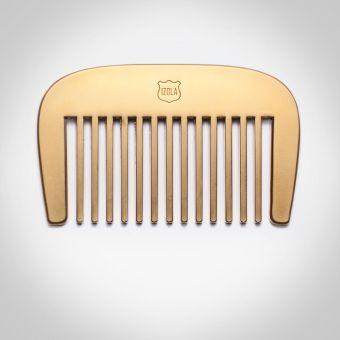 Brass Plated Beard Comb
