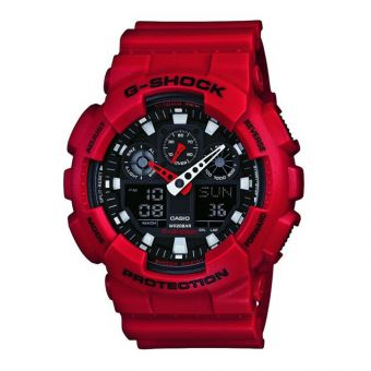 Mens G-Shock Watch GA-100B-4AER`