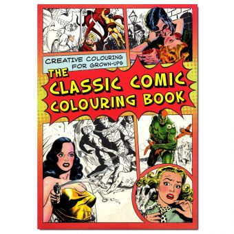 The Classic Comic Colouring Book 0