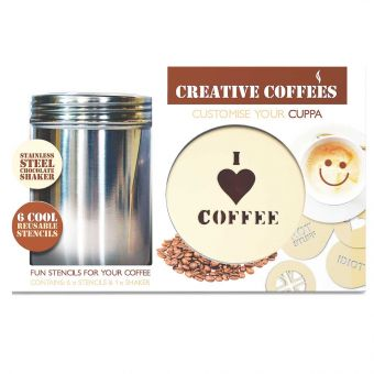 Coffee Stencil Kit