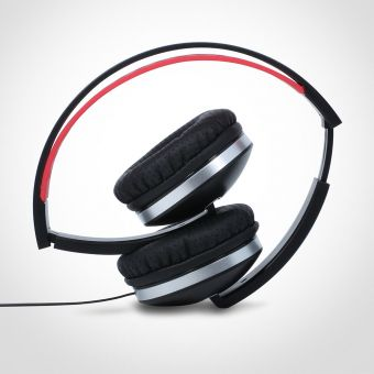 Folding Headphones Black