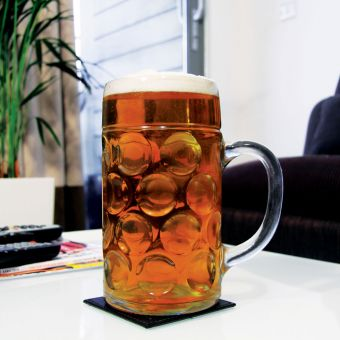 Giant Beer Stein Glass