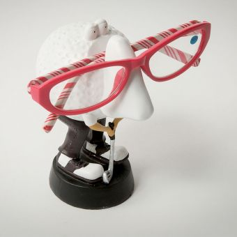 Golf Nose Glasses Holder