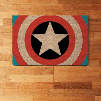 Captain America Door Mat
