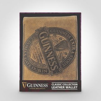 Guinness Brown Leather Wallet