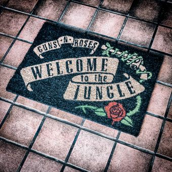 Guns 'N' Roses Door Mat