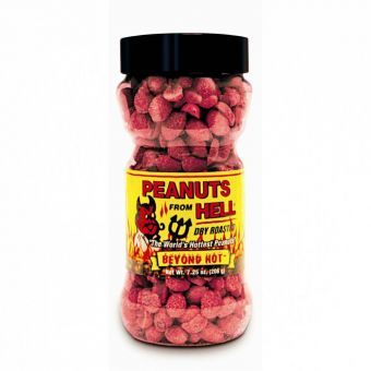 Habanero Peanuts from Hell