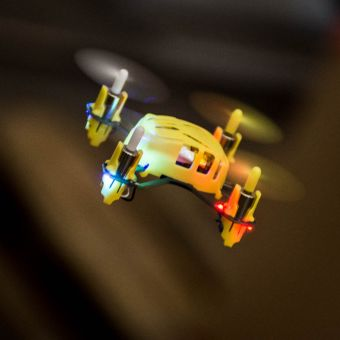 Hubsan Q4 Quadcopter Yellow