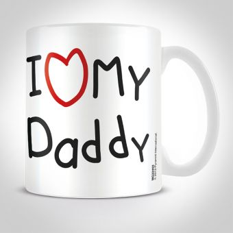 I Heart My Daddy Mug