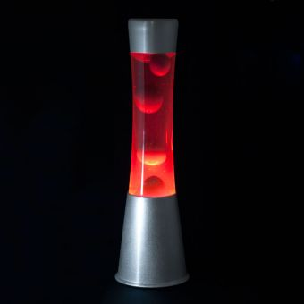 Lava Lamp Red / Purple
