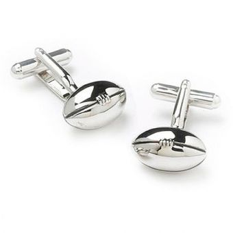 Rugby Ball Shirt Cufflinks