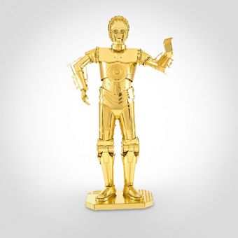 Star Wars C-3PO Metal Art Model