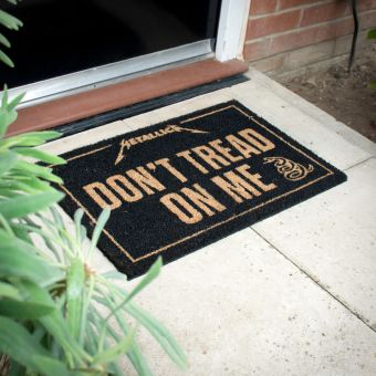 Metallica Don't Tread On Me Doormat
