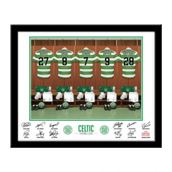 Personalised Celtic Dressing Room Photo