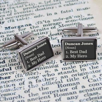 Sil/Squ Cufflinks Chrome